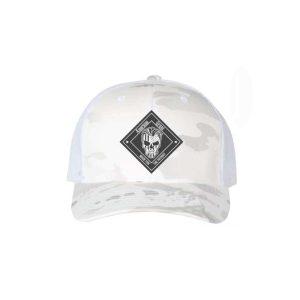 American Grunt Arctic Recon Hat Black/White