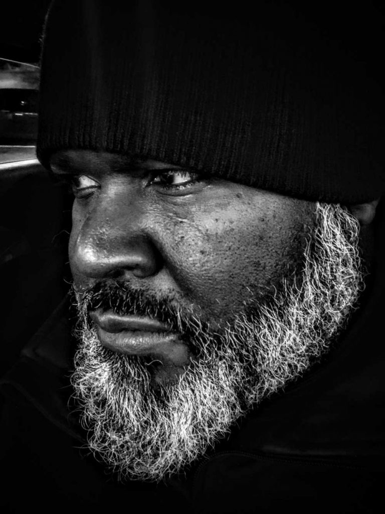US Marine close up beard - American Grunt life