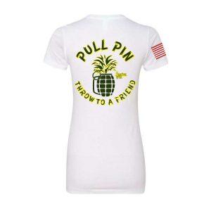 American Grunt Pull Pin Tshirt (women) back